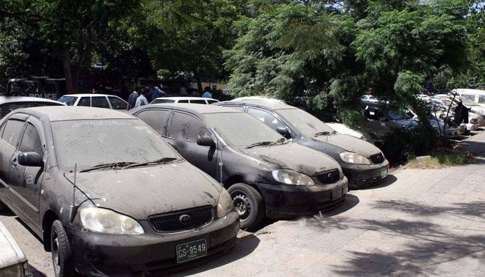 سندھ حکومت کی کئی ناکارہ گاڑیاں غائب