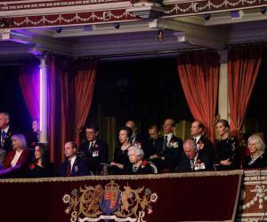 پہلی جنگ عظیم کے سوسال مکمل، لندن میں تقریب