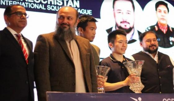 International Squash League Is Efforts Of Baluchistan Government And Security Forces Prince Umer