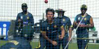 Pakistan Team Practice For First Test