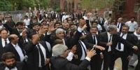 Faisalabad Lawyers Protest In High Court