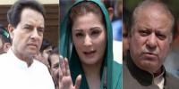 Nawaz Maryam And Safdar Name Include In Ecl