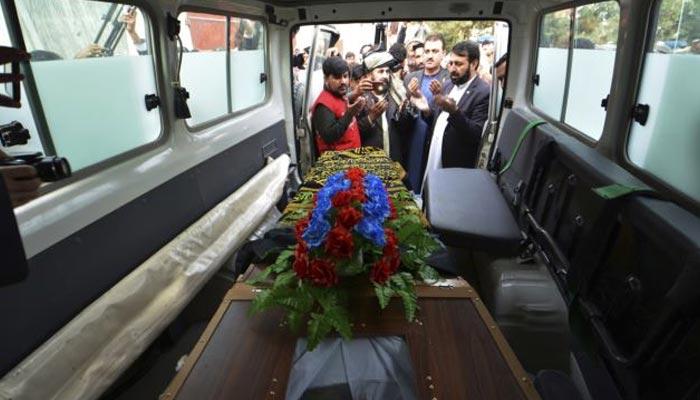شہید ایس پی طاہر داوڑ کی میت پاکستان کے حوالے کردی گئی