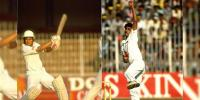 Two Legend Cricketers Test Debut