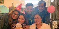 Shoaib Maliks Celebrations With Son Azhan And Family
