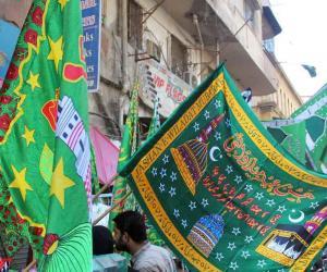 جشن عید میلاد النبی کی تیاریاں عروج پر