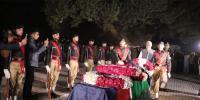 Sp Tahir Dawar Buried In Hayatabad