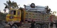 Dangerous Accident On Super Highway Karachi