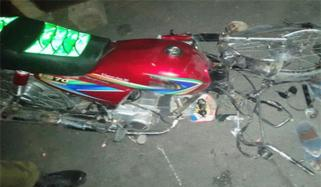 Clash Of 2 Motorcycles Husband And Wife Killed Two Children Injured In Khairpur