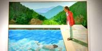 British Artist David Hockney Breaks A Record Painting Sells