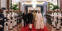 Pm And Army Chief Reached Presidential Palace Uae