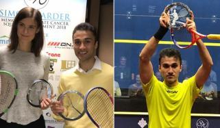Pakistani Player Wins Squash Tournament In Canada