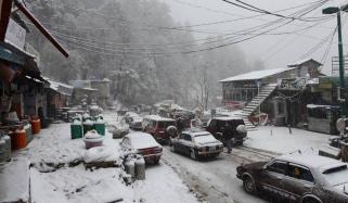 Snowfall In Gilgit Baltistan