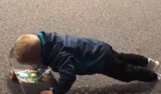 4 Year Old American Boy Can Do More Push Ups Than You