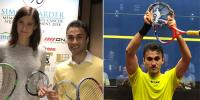 Pakistani Player Wins Squash Tournament In Canada