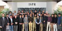 Journalists Of Gilgit Kashmir And Hazara Visit Ispr
