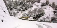 In Greece The Snow Fell 70 Cm