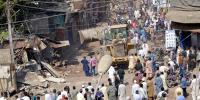 Anti Encroachment Operation In Aram Bagh Light House