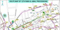 Karachi 12 Rabiul Awwal Traffic Plan Released