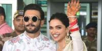Deepika Padukone And Ranveer Singh Fly To Bengaluru