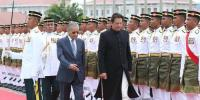 Imran Khan Receives Guard Of Honour In Malaysia
