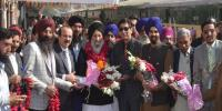 Baba Guru Nank Birth Day Celebrations Sikh Pilgrims Reached Pakistan