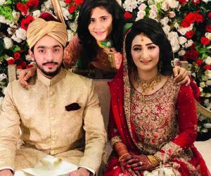 کرکٹر بسمہ معروف  کی شادی کی تصاویر