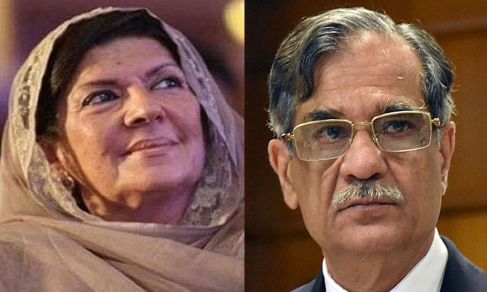 ''علیمہ خان کے خلاف کیا کارروائی ہوئی؟ ''