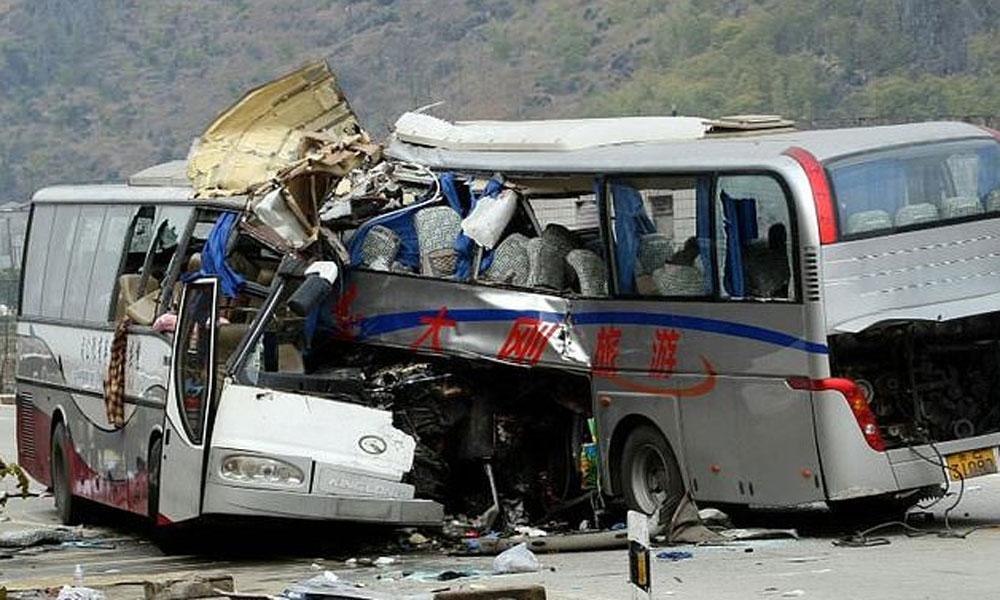ہر 24 سیکنڈ میں ایک شخص حادثے میں موت کا شکار