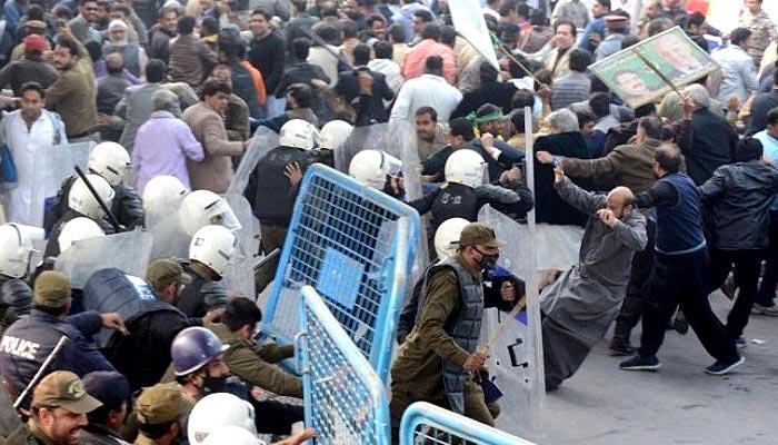 حمزہ شہباز کا لاٹھی چارج کا نشانہ بننےوالے کارکنوں کو خراج تحسین