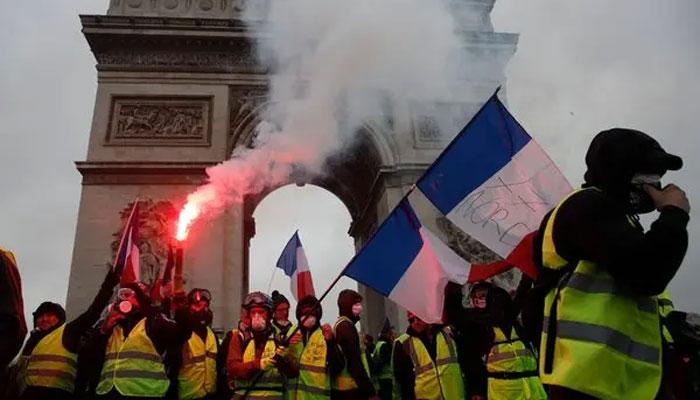 فرانس میں آج بھی پُرتشدد مظاہروں کا خدشہ