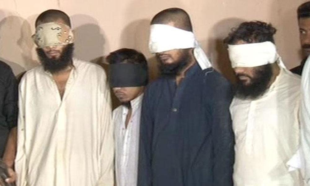 بہاولپور ،سی ٹی ڈی کی کارروائی، 5 دہشتگرد گرفتار