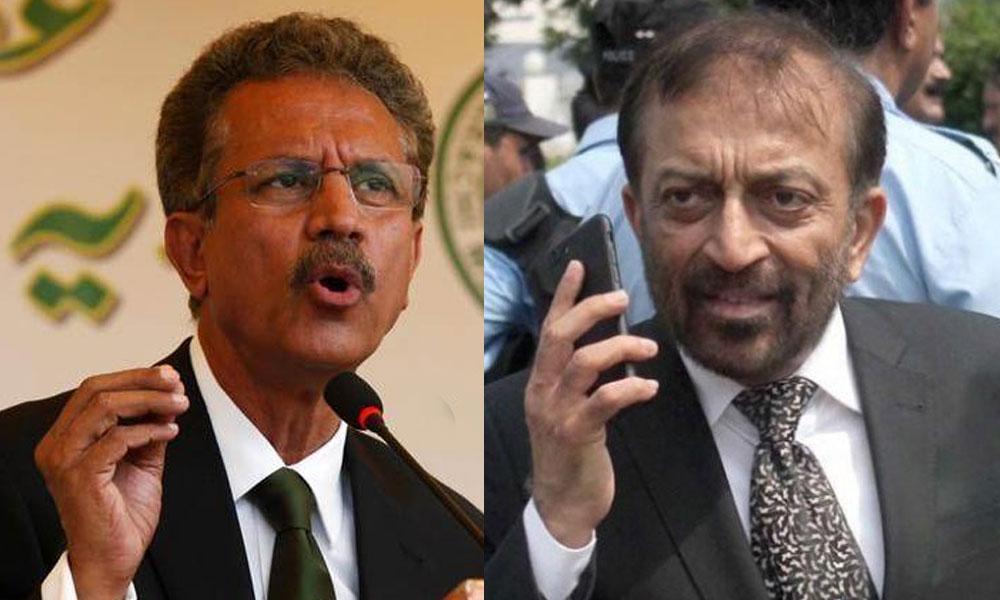 فاروق ستار اور میئر کراچی کے ایک دوسرے پر الزامات