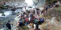 Indian Held Kashmir Bus Falls Into Gorge In Poonch 14 Killed