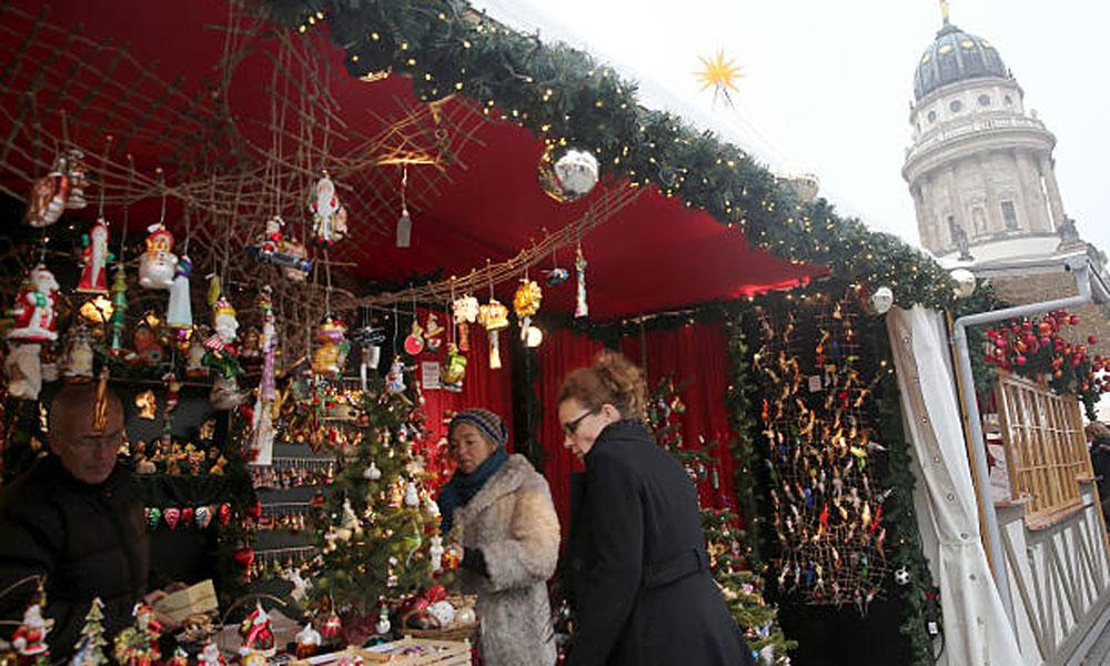 کرسمس کی آمد اور برلن کی سج دھج