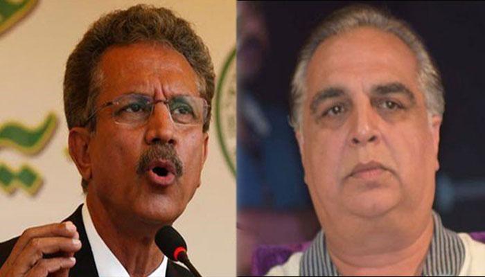 تجاوزات کیخلاف آپریشن، گورنر سندھ اور میئر کراچی آمنے سامنے