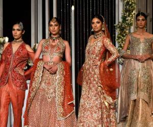 لاہور میں برائیڈل فیشن ویک کی جھلکیاں