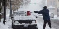 Southern Us Hit With Mammoth Snow Storm