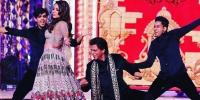 Isha Ambanis Pre Wedding Festivities Shah Rukh Khan Dances With Hillary Clinton
