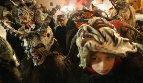 Krampus Christmas Parade Held In Germany