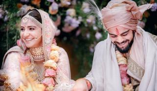 Virat Kohli Posts Adorable Marriage Anniversary Message For Anushka Sharma