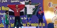 Weightlifter Talha Talib Wins Gold Medal In Cairo