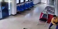 Snake Slithers Into Police Station Leaps Up At Man In Waiting Room Thailand