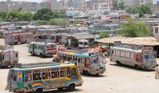 Transporters Of Karachi Refused To Run Buses Today