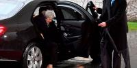 Theresa May Got Stuck In Car In Berlin