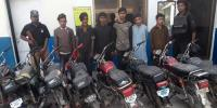 Motorcycle Thief Childrens Gang Arrested In Karachi