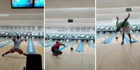 Guy Performs Incredible Trickshots Using Bowling Ball