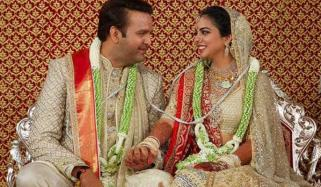 First Pics Of Isha Ambanis Wedding Are Out
