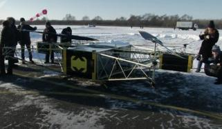 Russian Super Heavy Drone Skyf Brave Extreme Temperatures During Demo Flight