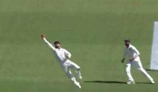 Virat Kohli Takes Acrobatic Slip Catch To Send Back Peter Handscomb